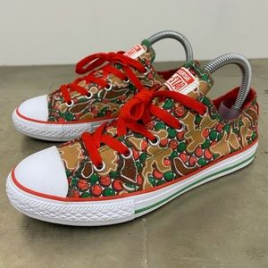 Converse All Star Christmas Gingerbread Low Top